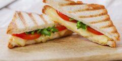 ساندويش الجبن بالجرجير