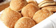 عجينة خبز البرجر